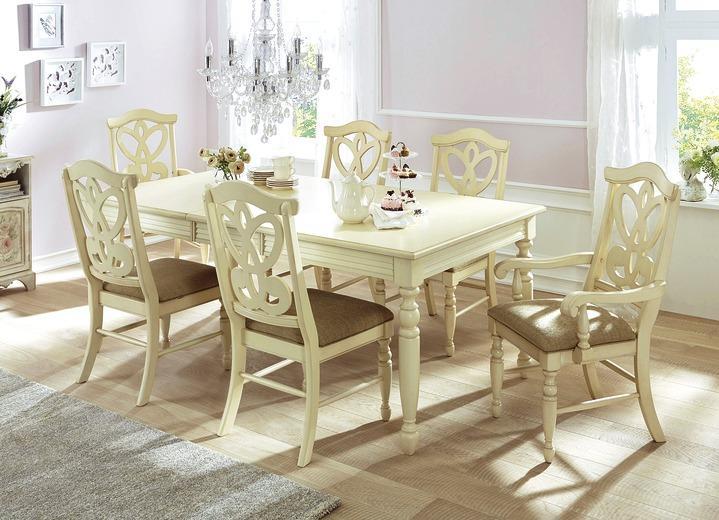 Landhausmöbel Weiß Esszimmer