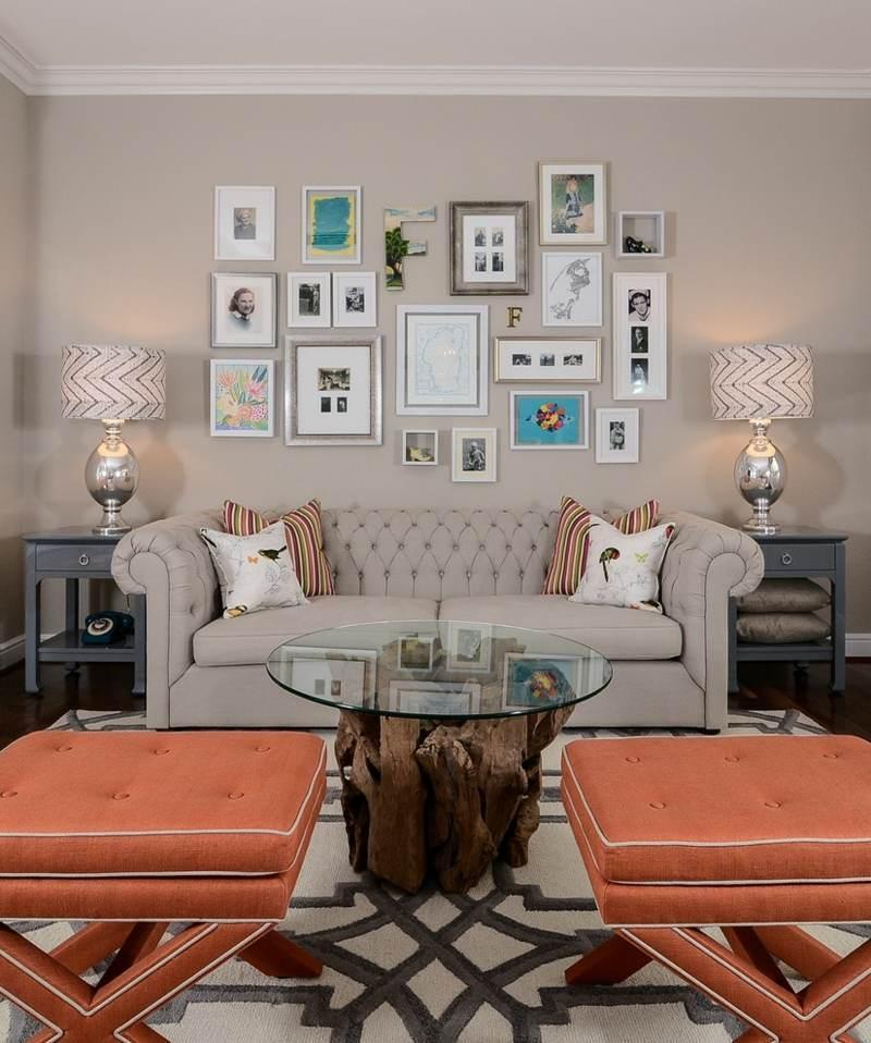 Landhausstil Wanddekoration Wohnzimmer