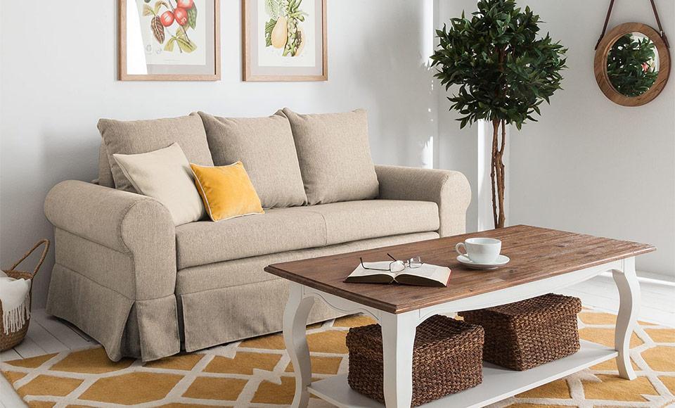 Landhausstil Wohnzimmer Deko Ideen