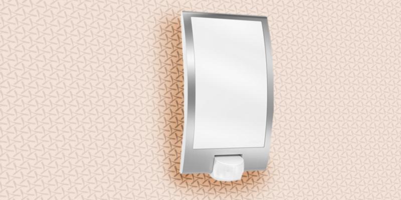 Led Außenlampe Mit Bewegungsmelder Und Dauerlichtfunktion