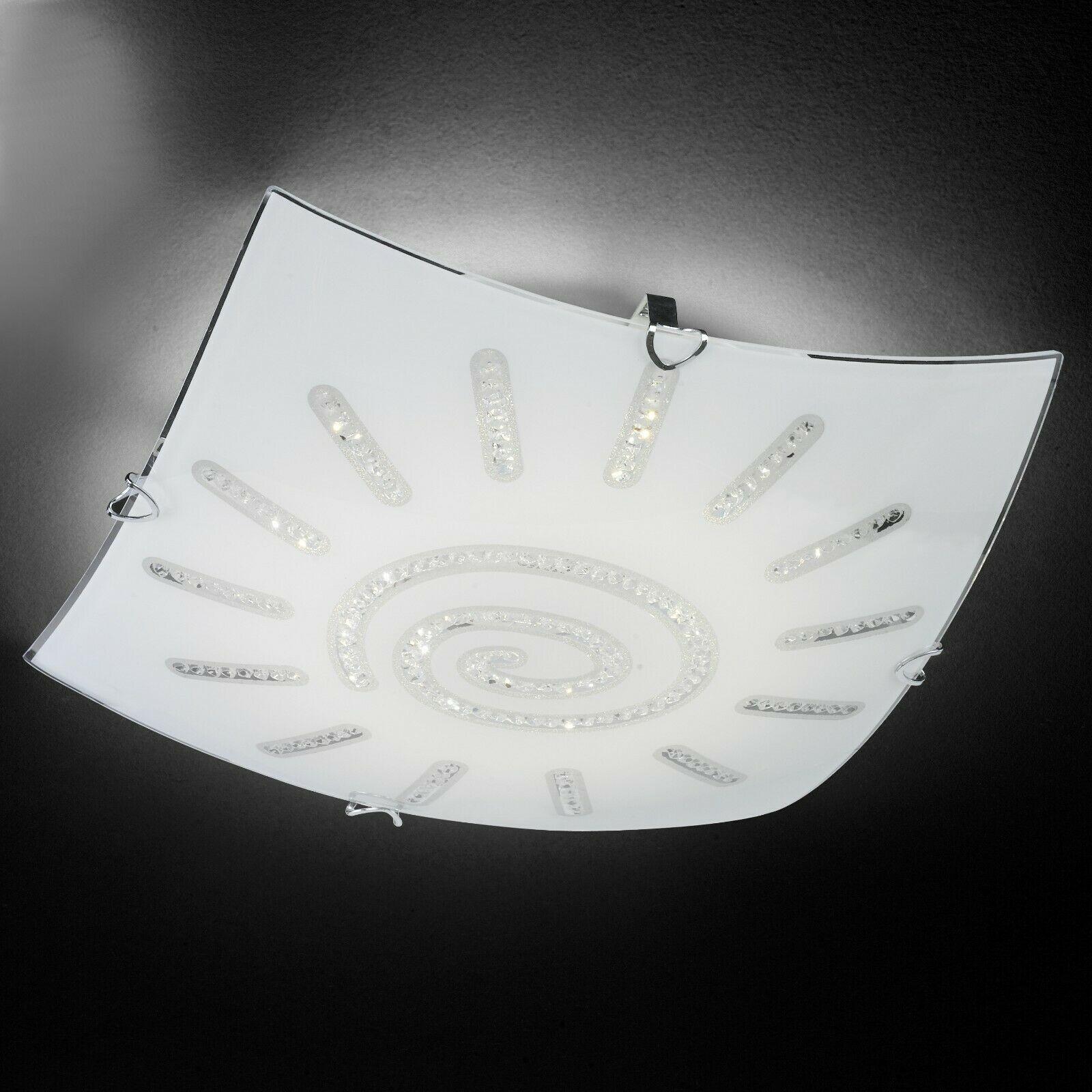 Led Deckenlampe Flach Eckig