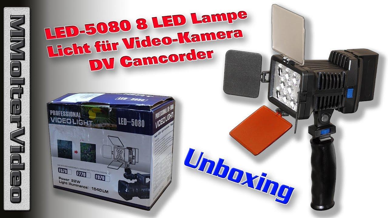 Led Lampe Kamera