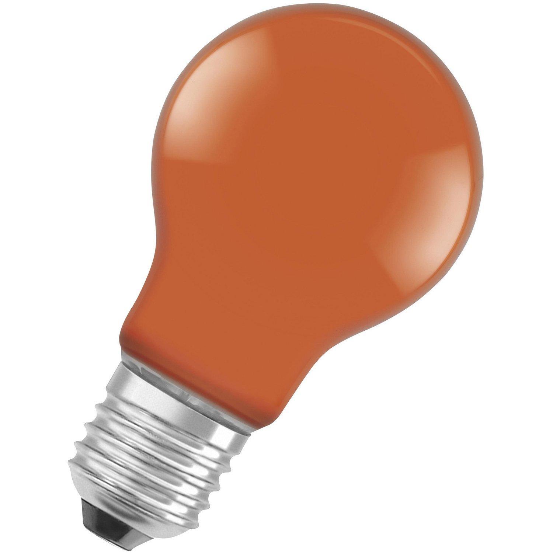 Led Lampe Orange