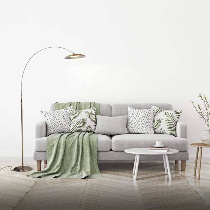 Led Lights Behind Sofa