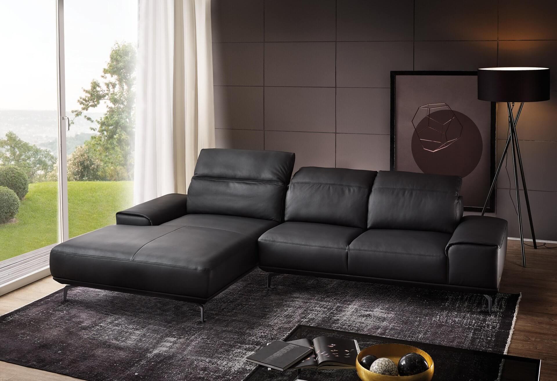 Leder Couch Klein