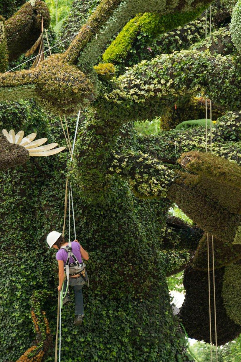 Living Garden Sculptures