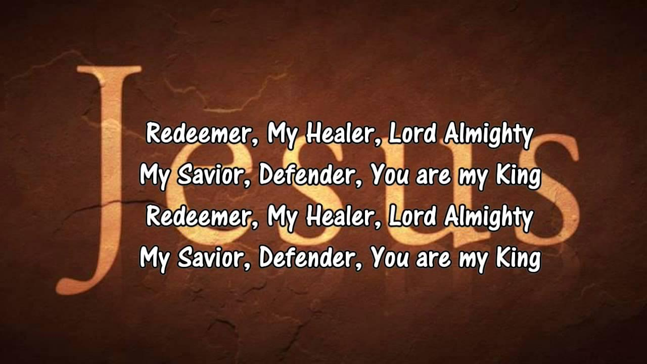 Lord You Are My King