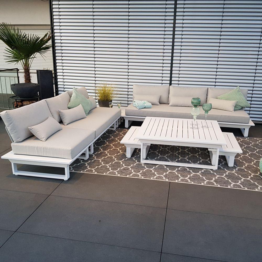 Lounge Gartenmöbel Alu