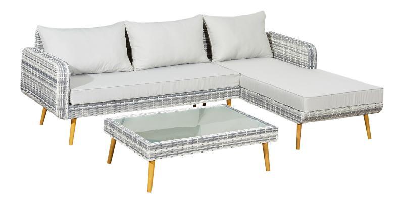 Lounge Gartenmöbel Aluminium