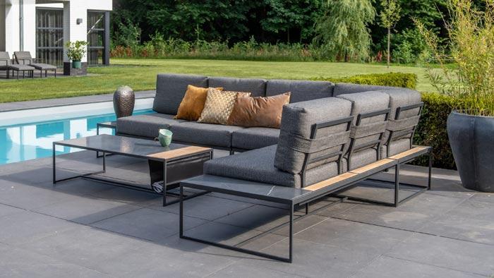 Lounge Gartenmöbel Holz