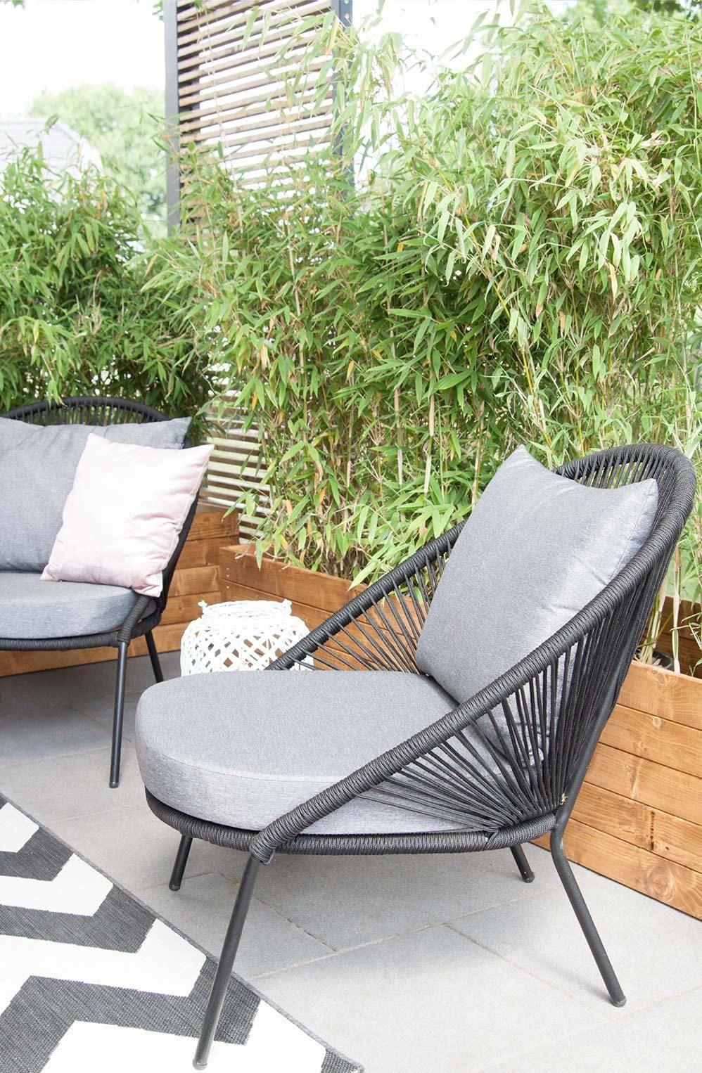 Lounge Sessel Balkon