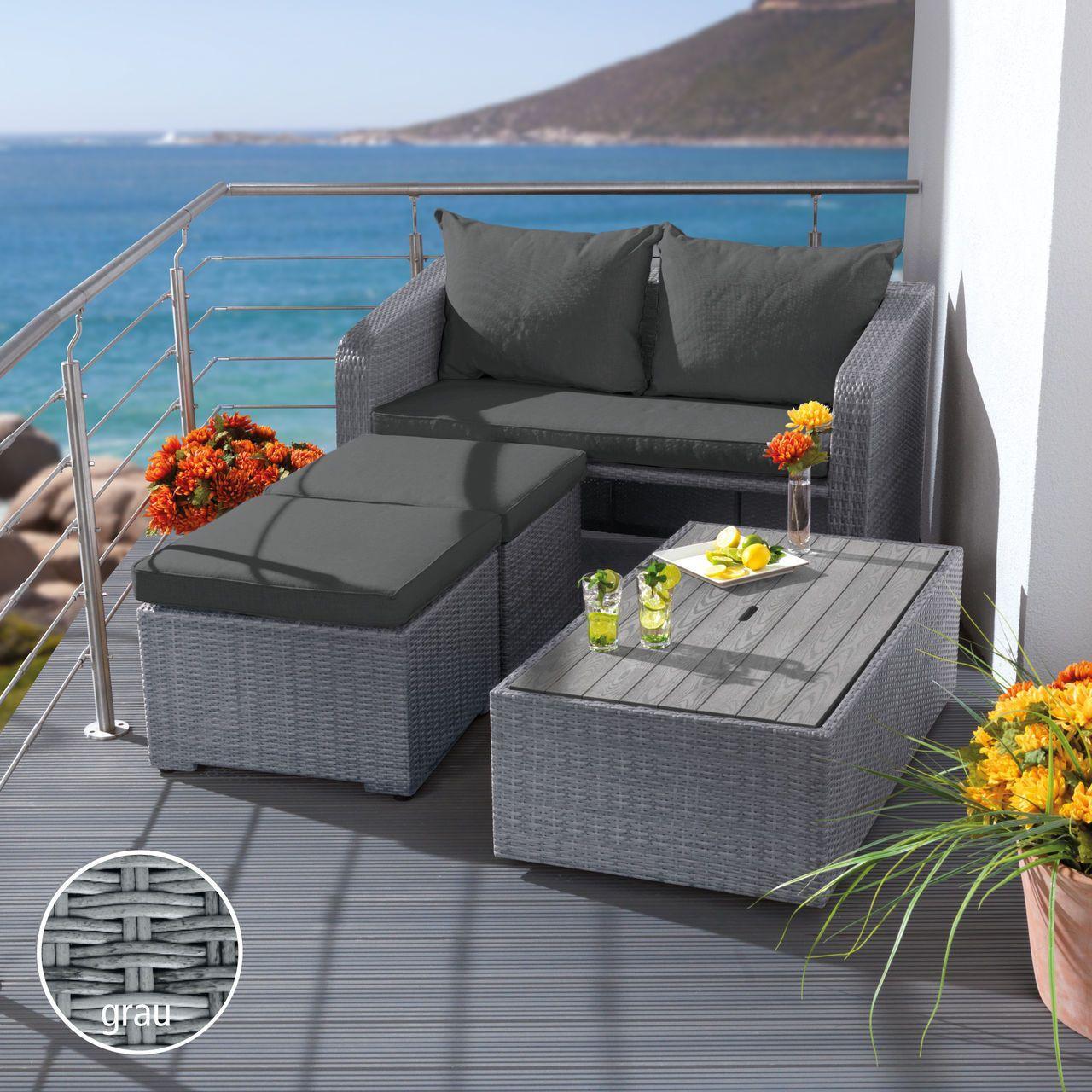Lounge Sofa Balkon Klein