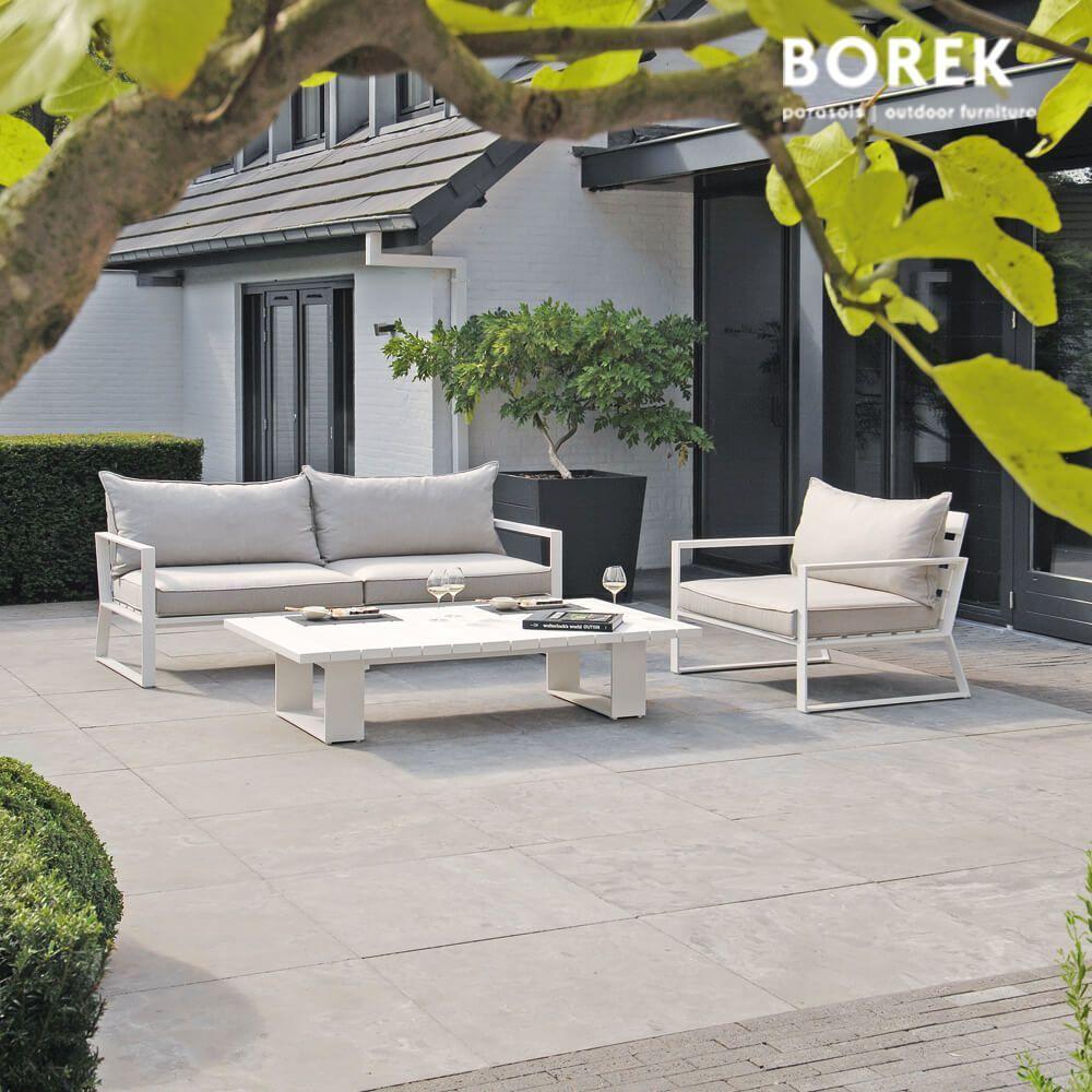 Lounge Sofa Garten Aluminium