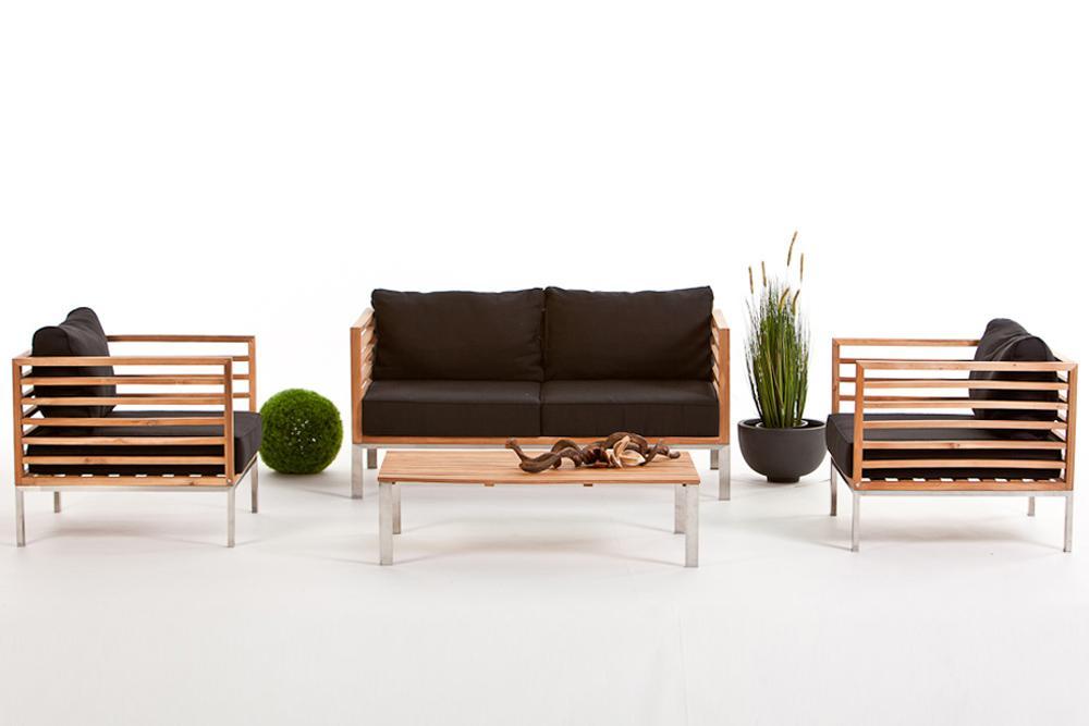 Lounge Sofa Garten Holz
