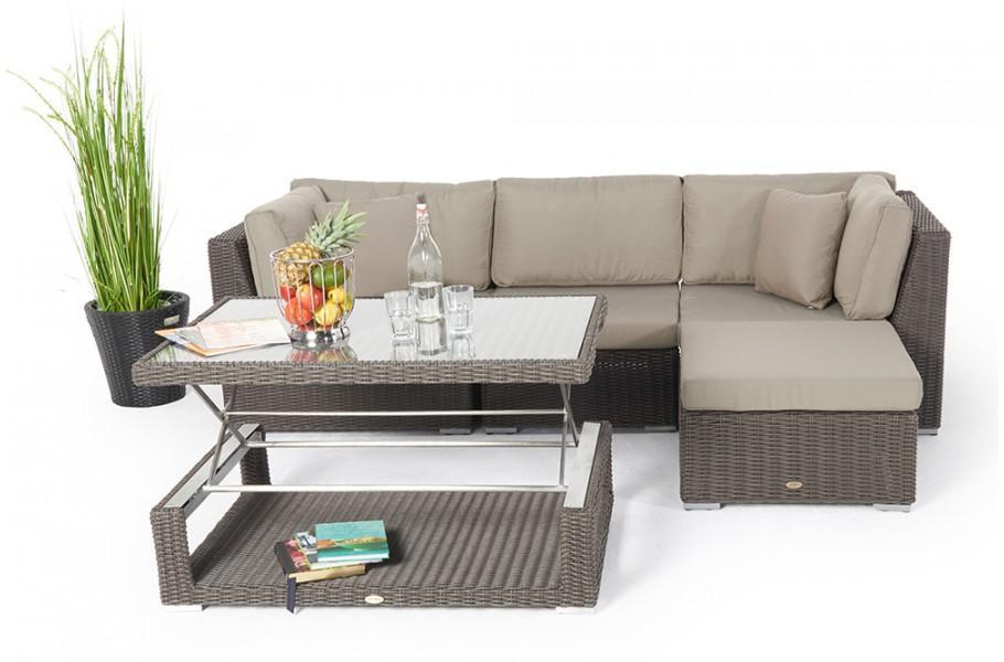 Lounge Sofa Garten Rattan
