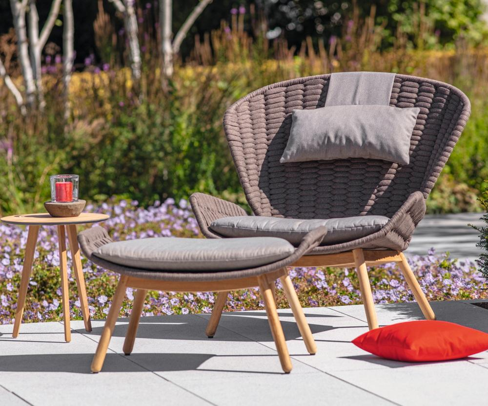 Lounge Stuhl Garten
