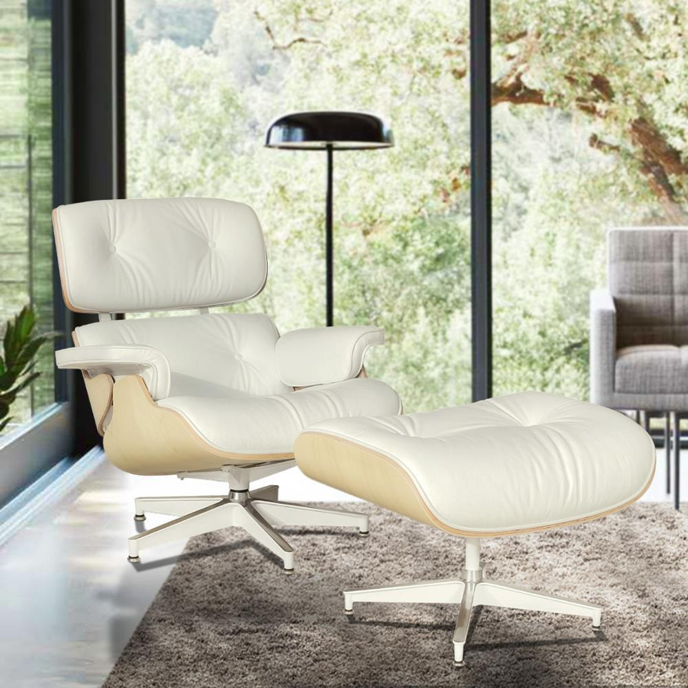 Lounge Stuhl Leder