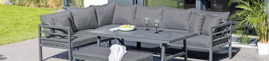 Loungemöbel Balkon Aluminium
