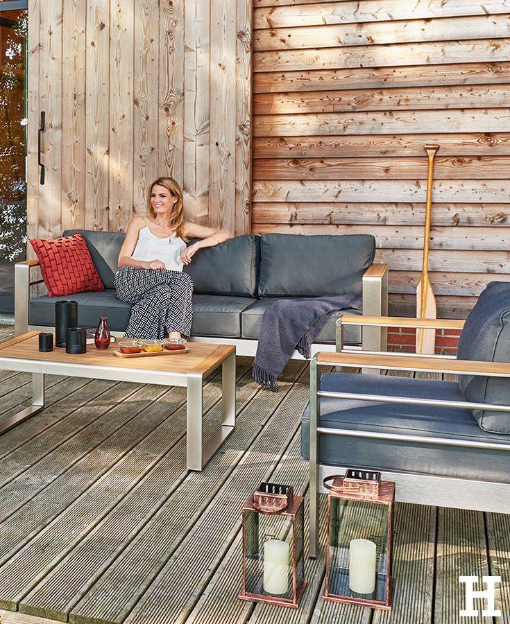 Loungemöbel Outdoor Sitzgruppe