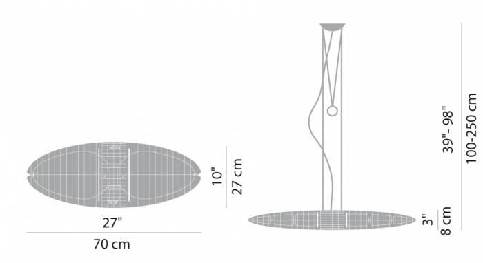 Luceplan Titania Farbfilter Wechseln