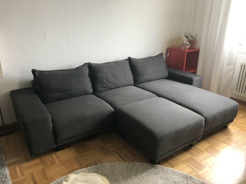 Mömax Sofa Hellgrau
