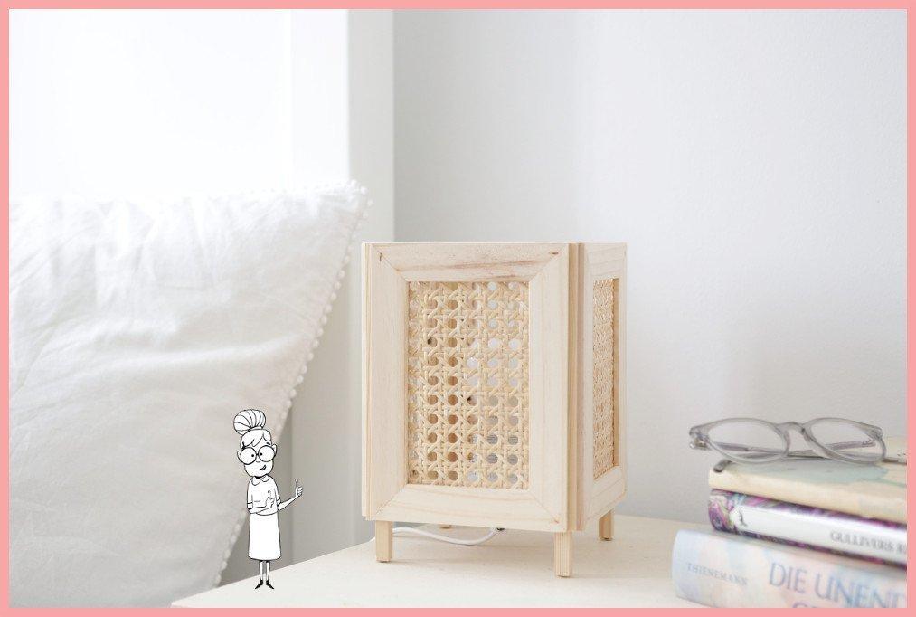 Makramee Lampe Ikea