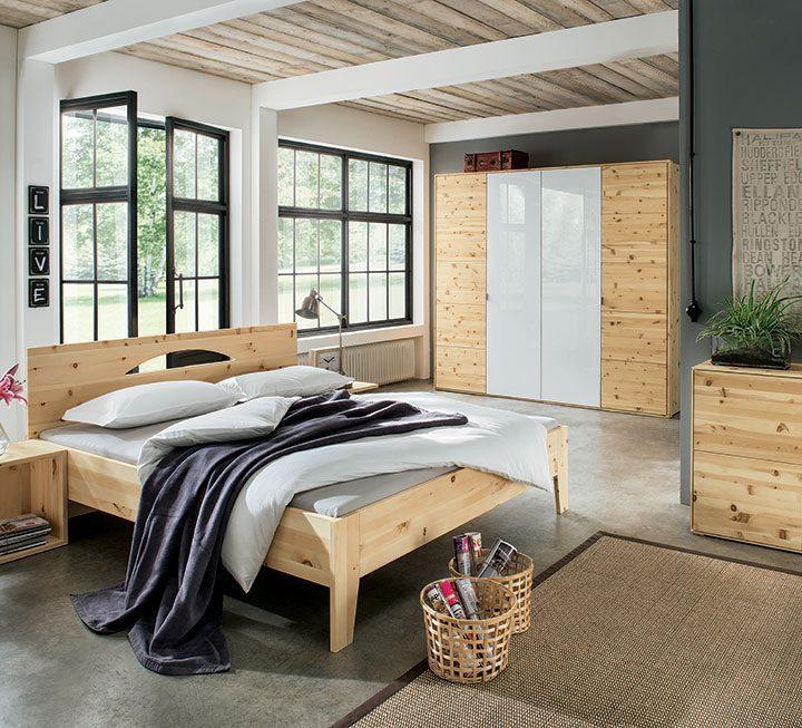 Männer Schlafzimmer Holz