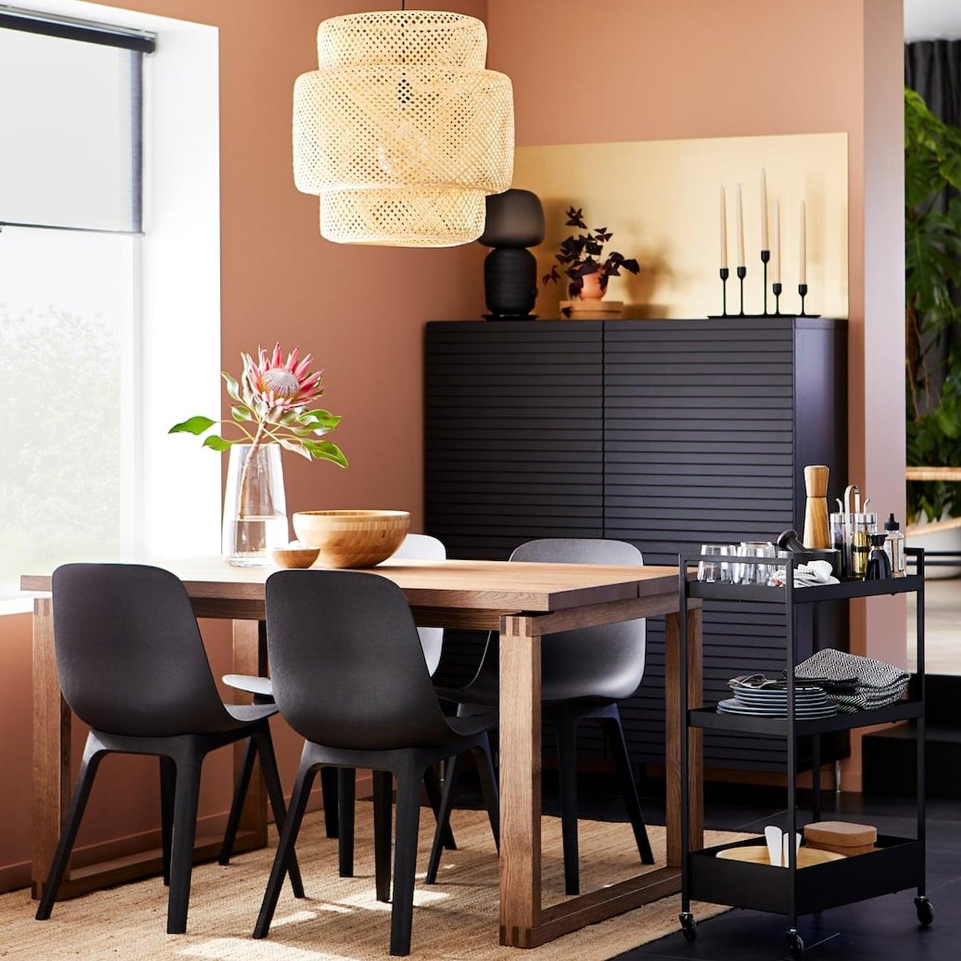 Massivholz Esstisch Mit Stühlen Modern