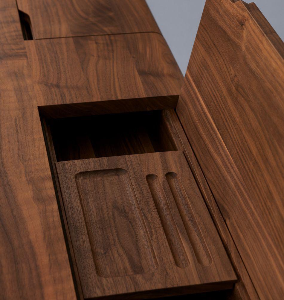 Massivholz Schreibtisch Design