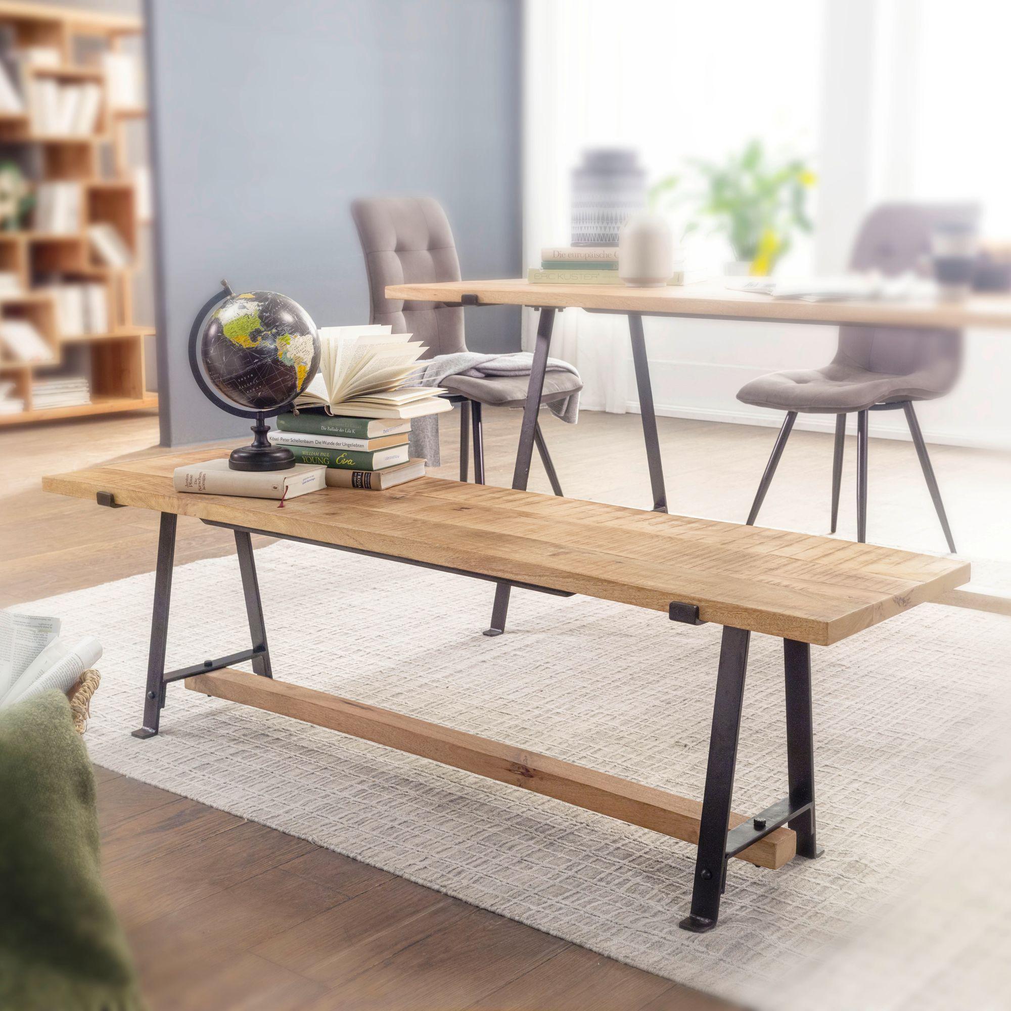 Massivholz Schreibtisch Groß