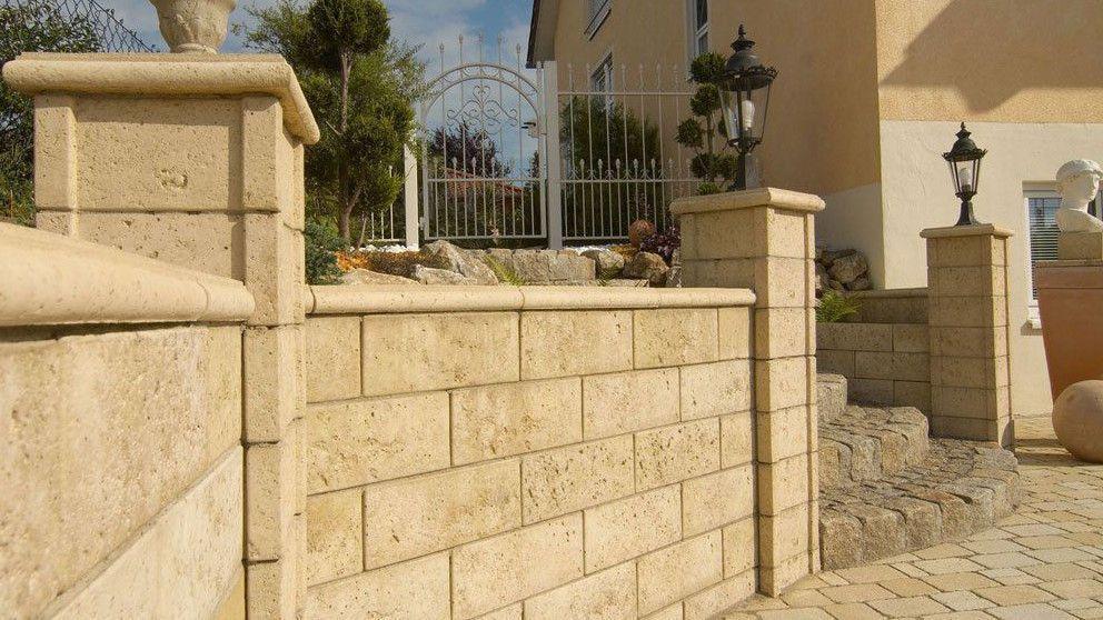 Mauersysteme Aus Beton