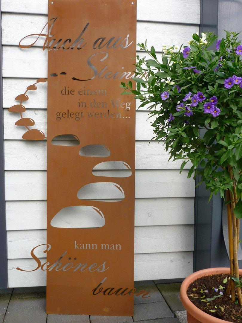 Metall Deko Garten Selber Machen