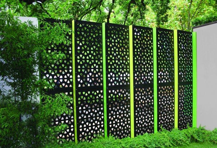 Metall Deko Garten Sichtschutz