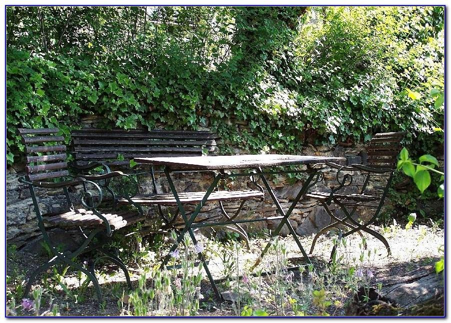 Metall Gartenmöbel Antik