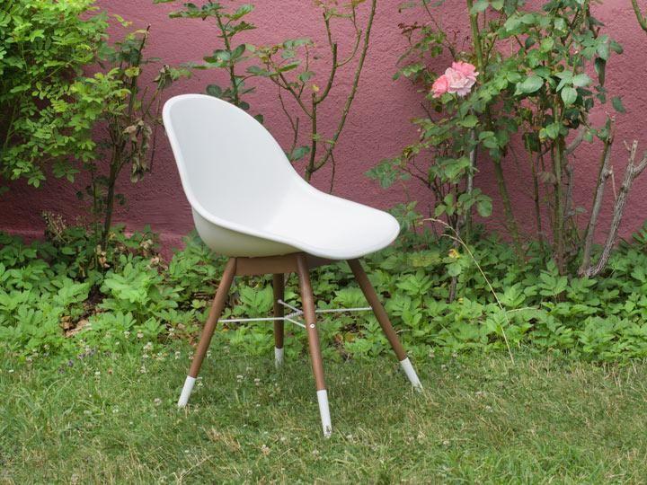 Metall Gartenstühle Weiß