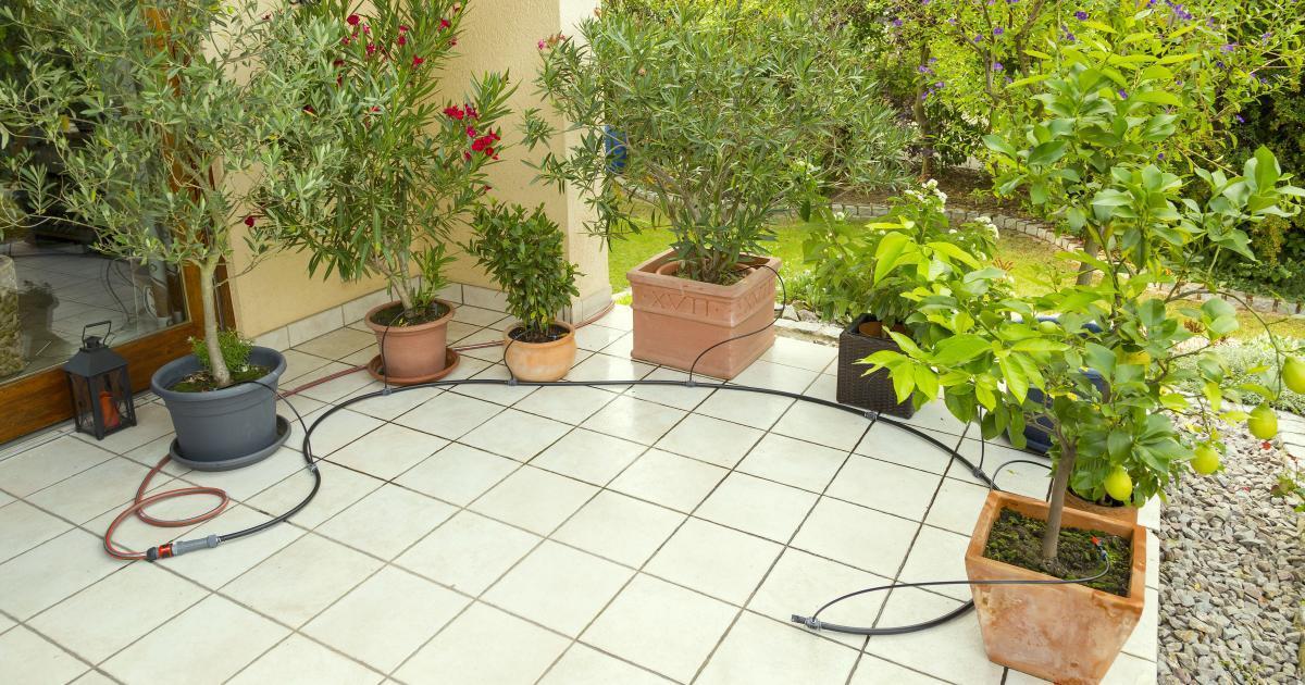 Micro Drip Gardena Bewässerungssystem