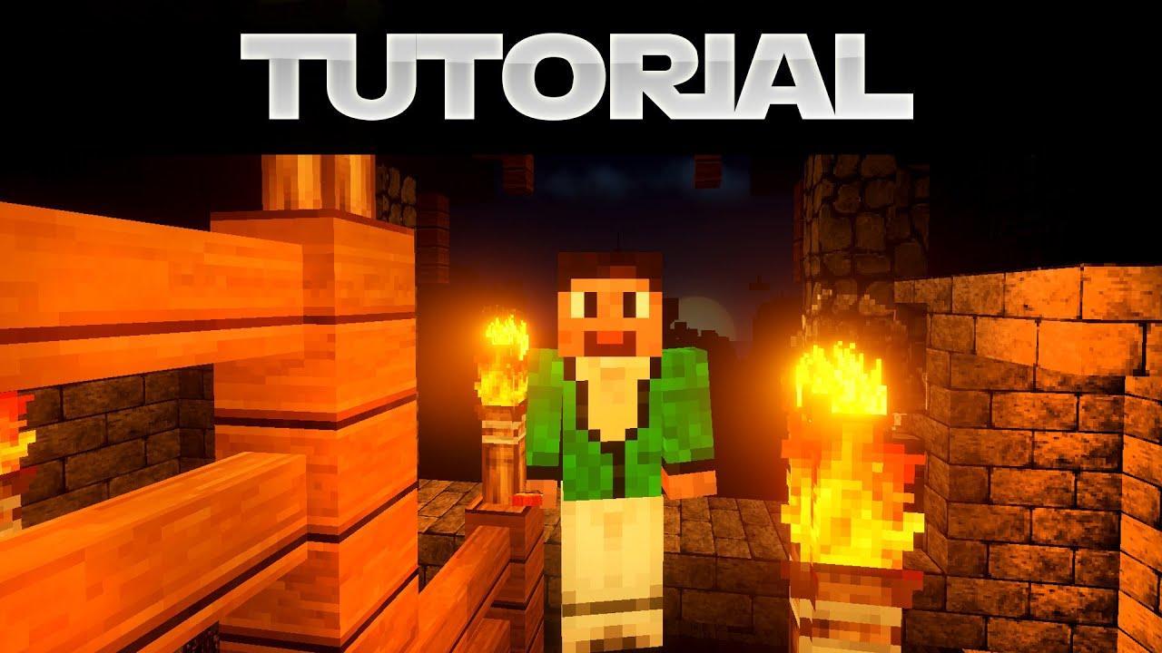 Minecraft Fackel Lampe