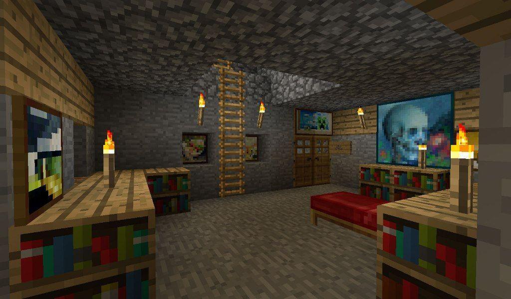 Minecraft Inneneinrichtung Schlafzimmer