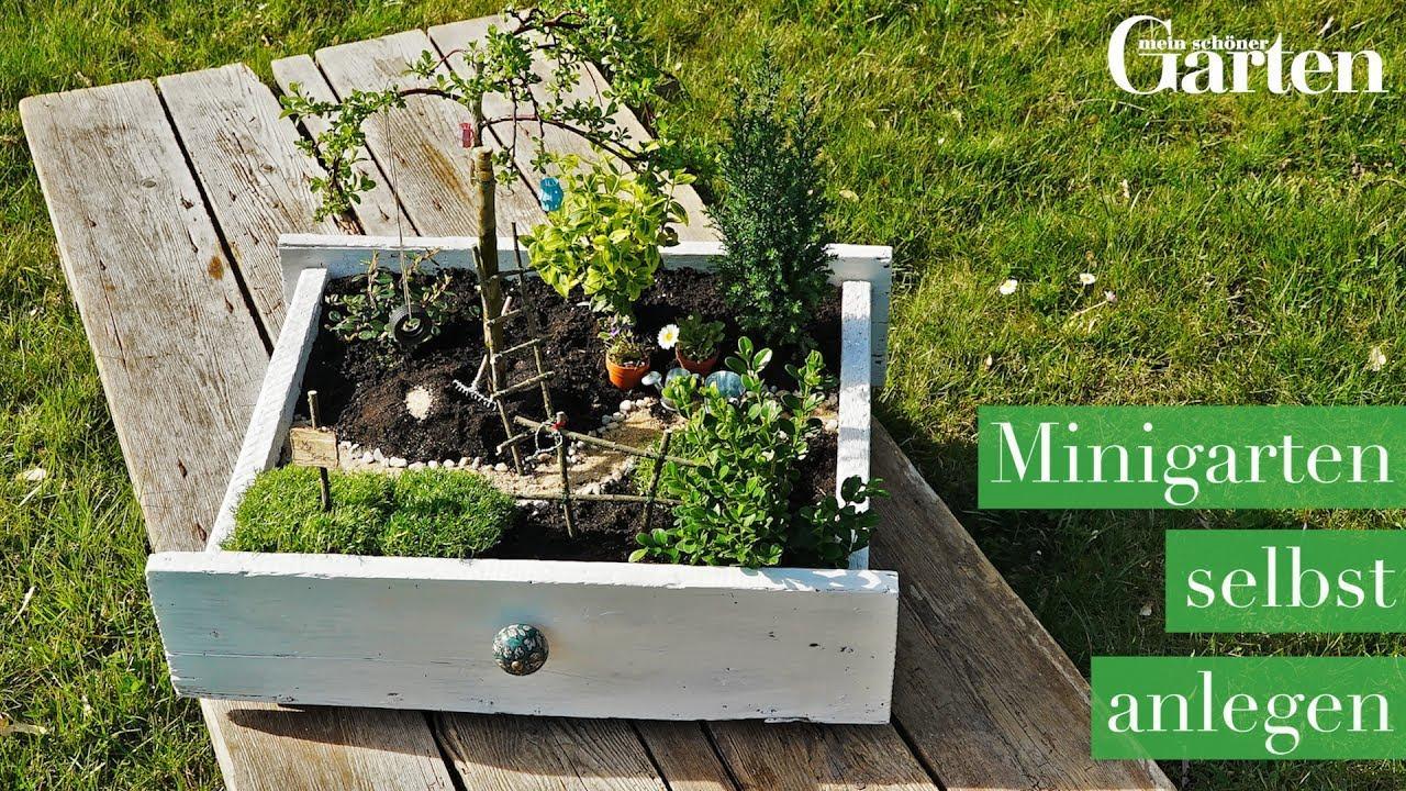 Mini Garten Basteln Anleitung
