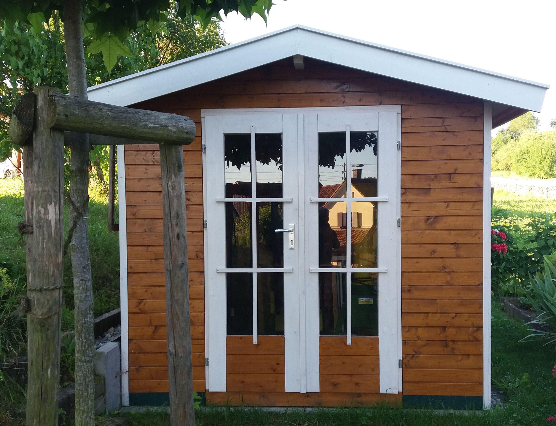 Mini Gartenhaus Holz Klein