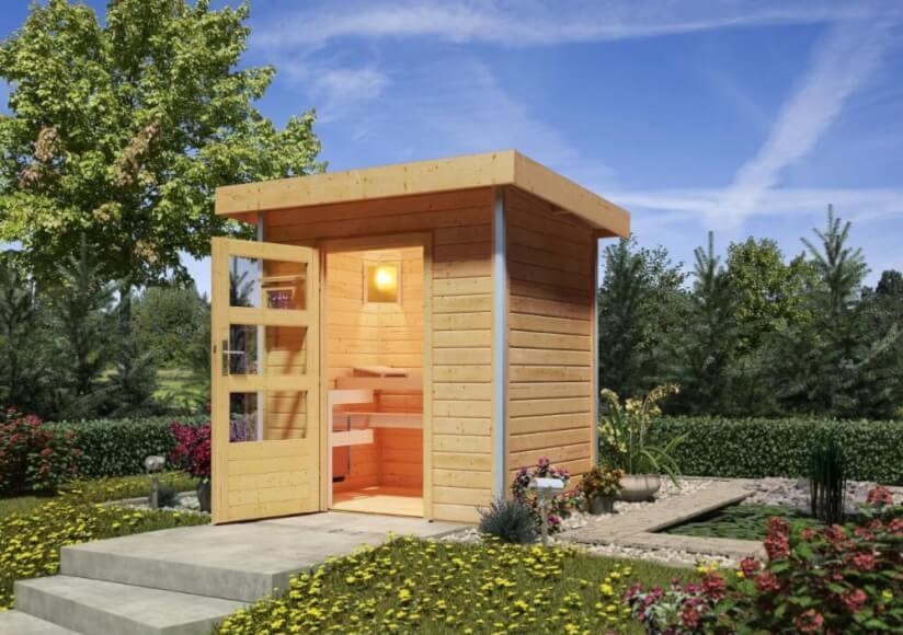 Mini Sauna Für Garten