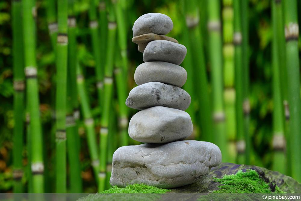 Mini Zen Garten Balkon