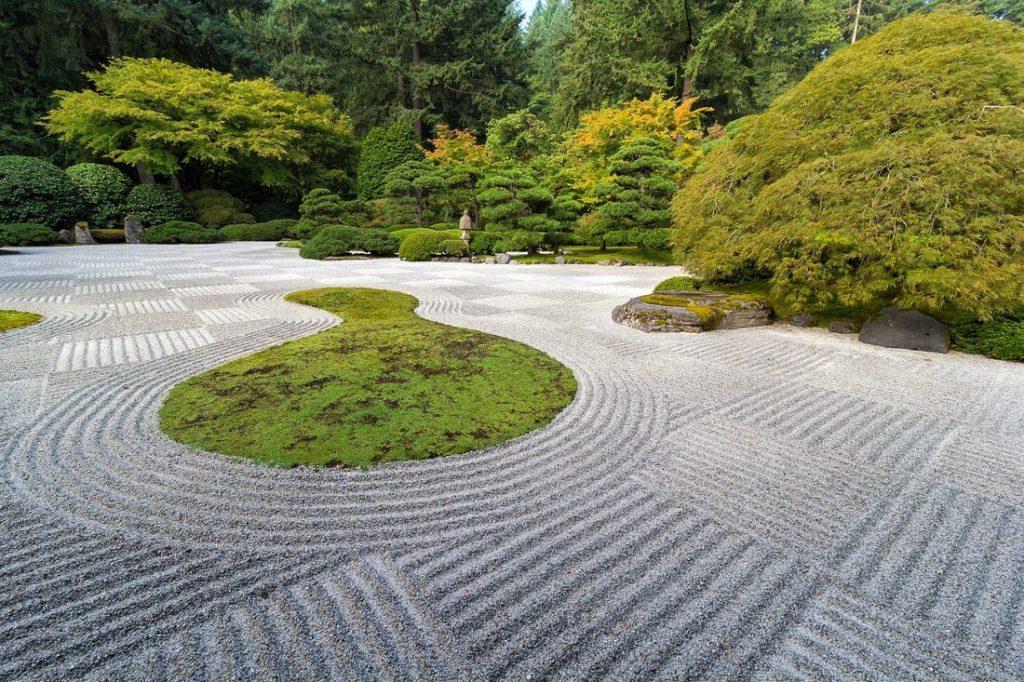 Mini Zen Garten Gestalten
