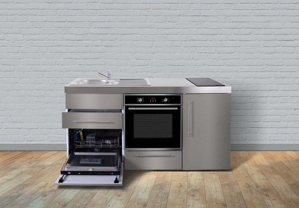 Miniküche Mit Kühlschrank Und Geschirrspüler