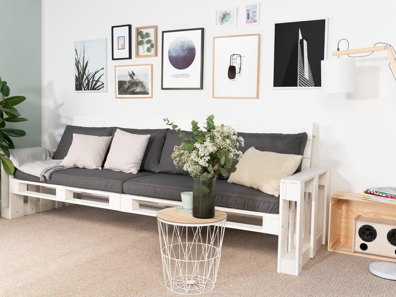 Möbel Aus Holzpaletten Selber Bauen
