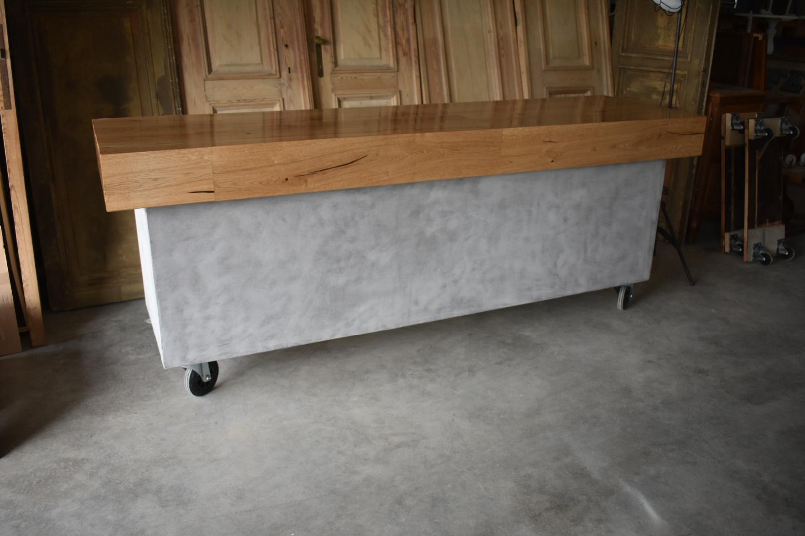 Möbel Betonoptik Und Holz
