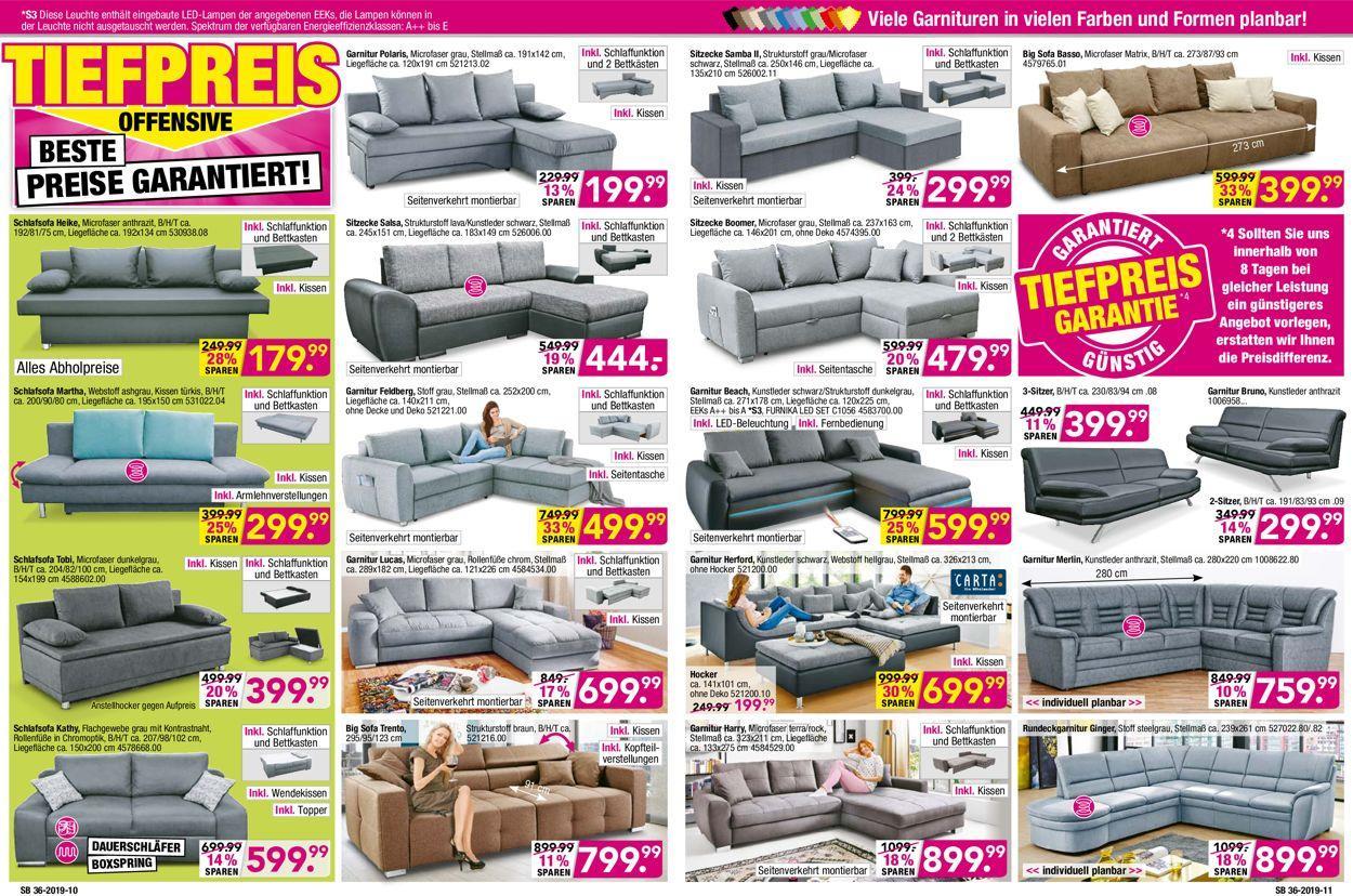 Möbel Boss Angebote Sofa