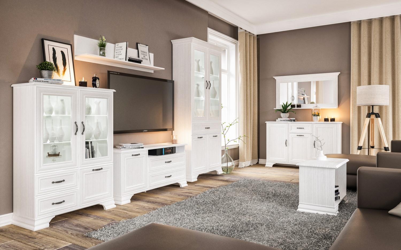 Möbel Landhausstil Weiß