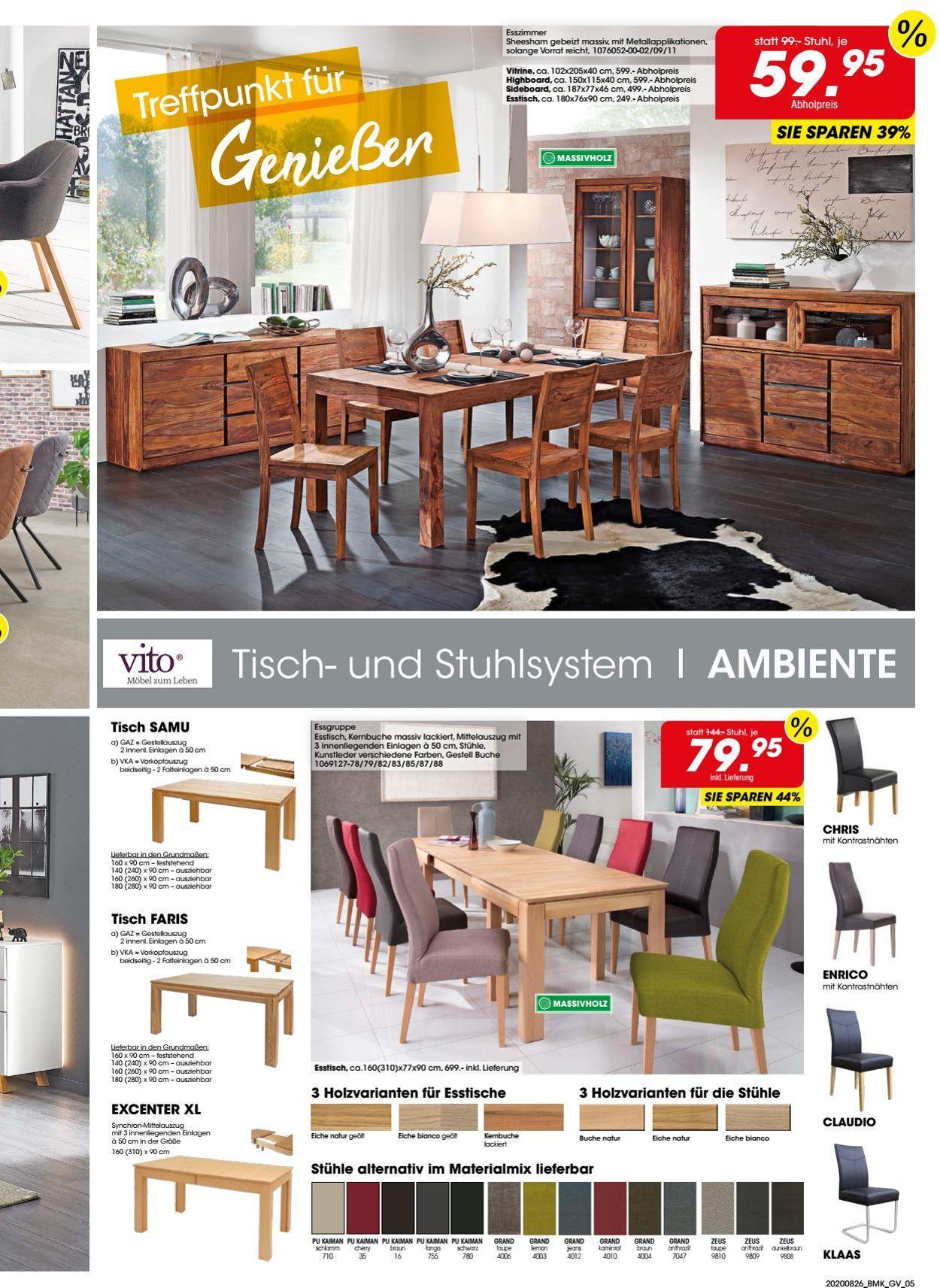 Möbel Martin Stühle