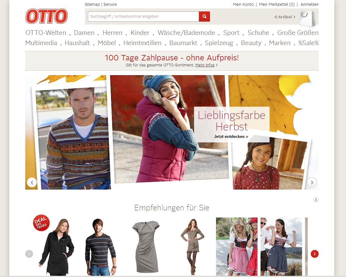 Möbel Otto Versand Online Shop Deutschland